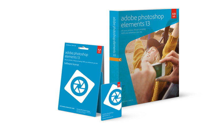 Adobe Photoshop Elements 13 Packaging